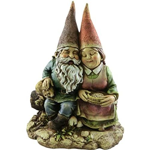"""12""""Gnome Couple  by Napco"""