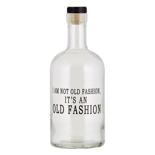 Bourbon Bottle - I Am Not Old Fashion