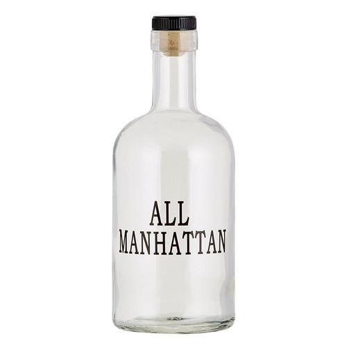 Bourbon Bottle - All Manhattan
