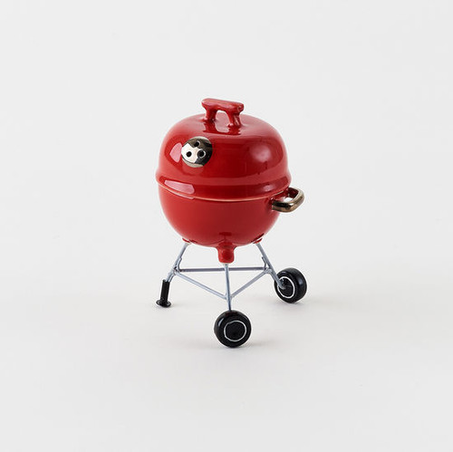 Red BBQ Grill Salt and Pepper Set