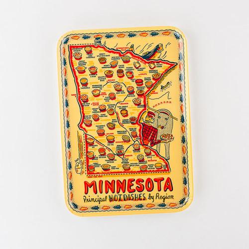 "9""x 13""  Minnesota ""Hot Dish"" Melamine Platter"