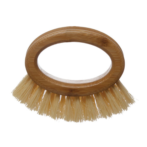"""5""""L Bamboo Brush, Natural by Creative Co-op"""