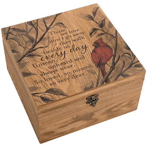 """So Very Dear"" Keepsake Memory Box"