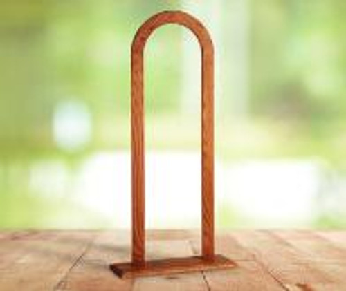 "43"" Cedar Chapel Display- Chime Stand"