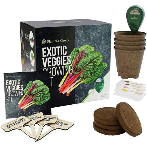 Exotic Veggies Growing Kit