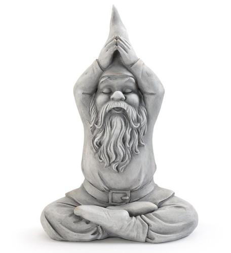 """13"""" Gnome Yoga Pose by Napco"""