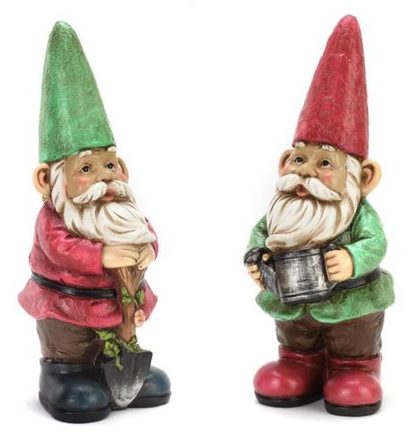 Gardening Gnomes~ Set of 2 ~ by Napco