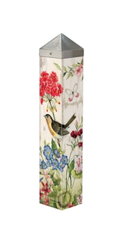 "Bloom with Grace  20""  Art Pole"