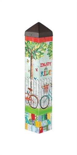 """Enjoy the Ride 20""""  Art Pole"""