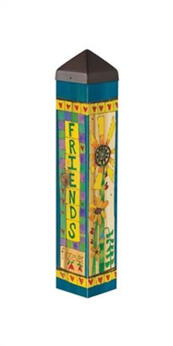 """Friends  20""""  Art Pole"""