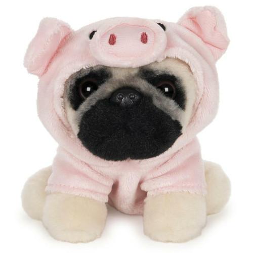 "5"" Doug The Pug Pig Plush  by GUND"