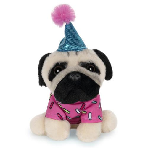 "5"" Doug The Pug Birthday Sprinkles Plush  by GUND"