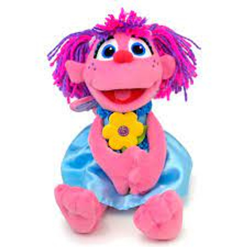 """11""""  Abby Cadabby with Flowers ~ Plush  by GUND"""