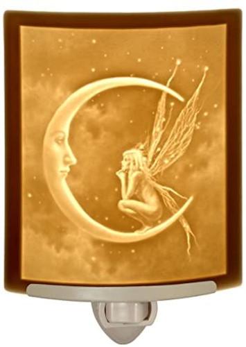 Fairy Moon Curved Night Light