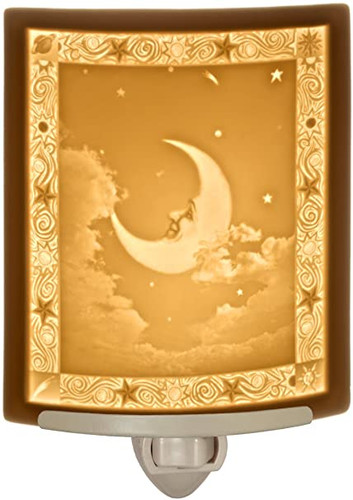 Man in the Moon Curved Night Light