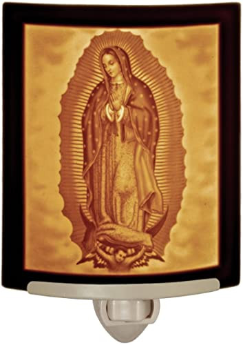 Our Lady of Guadalupe  Curved Night Light
