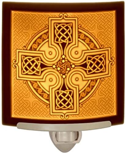 Celtic Cross  Curved Night Light