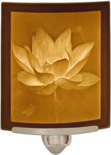 Lotus Flower Curved Night Light