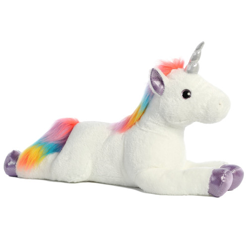 "27"" Rainbow Unicorn Sparkle Tales by Aurora"