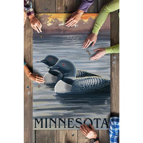 Minnesota Loons 1000 Piece Puzzle