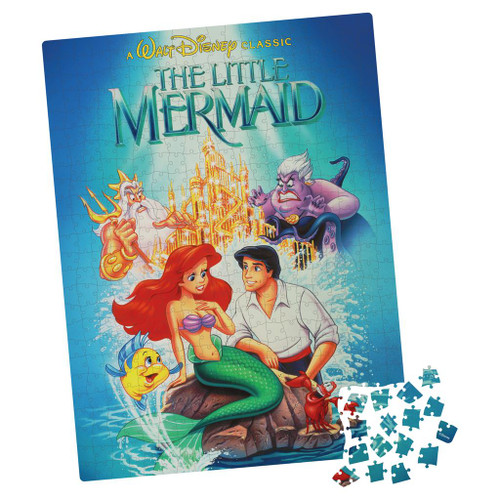 Little Mermaid Blockbuster  ~ 500 Piece Puzzle