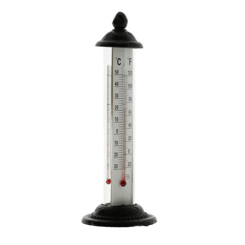Cast Iron Garden Thermometer by California HomArt