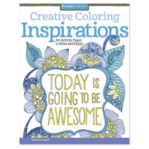 Creative Coloring Inspirations Coloring Book