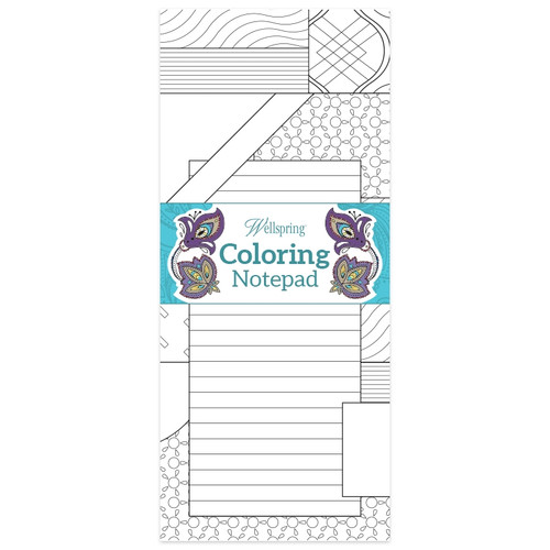 Patchwork Coloring Notepad