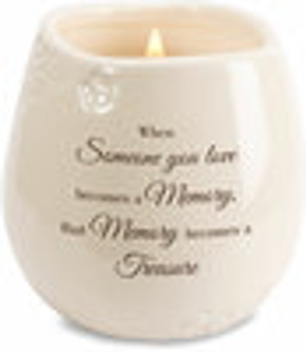 Memory - 8 oz - 100% Soy Wax Candle Scent: Tranquility
