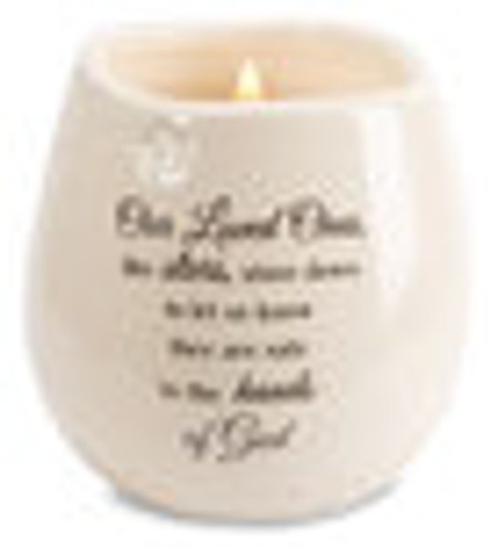 Loved One - 8 oz - 100% Soy Wax Candle Scent: Tranquility
