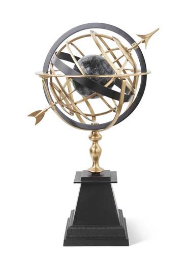 "42"" Indoor Brass Armillary Sphere"