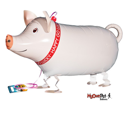 """26""""PKG PIG PET AIR WALKER BALLOON"""