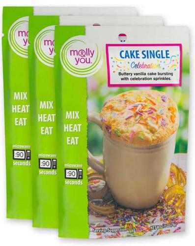Celebration Cake Microwave Single