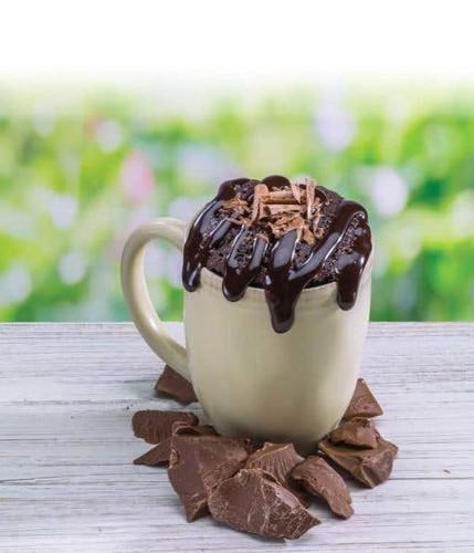 Ooey Gooey Chocolate Brownie Microwave Single
