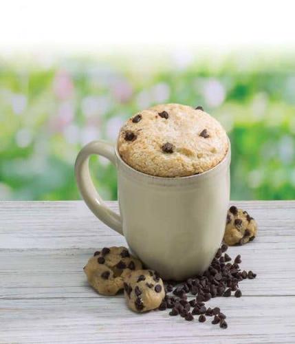 Chocolate Chip Cookie Dough Cake Microwave Single