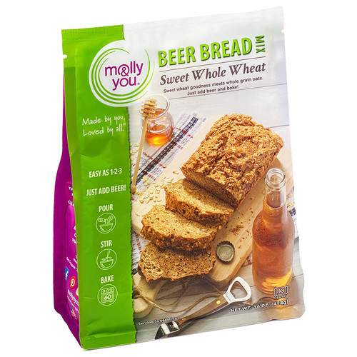Sweet Whole Wheat Beer Bread Mix