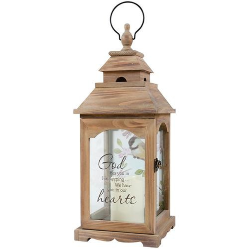 God has you... Memory Lantern - by Carson Home Accents