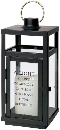 Light Glows Memory Lantern - by Carson home Accents
