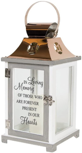 In Loving Memory...In Our Hearts- Memory Lantern - by Carson