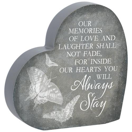 """""""Always Stay"""" Heart Sitter"""