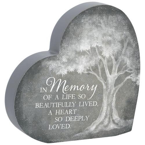 """""""In Memory"""" Heart Sitter"""