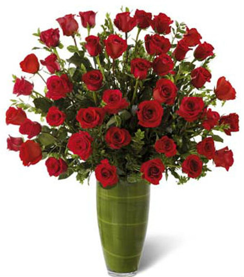 """Fascinating"" Luxury Bouquet 40 Red Roses"