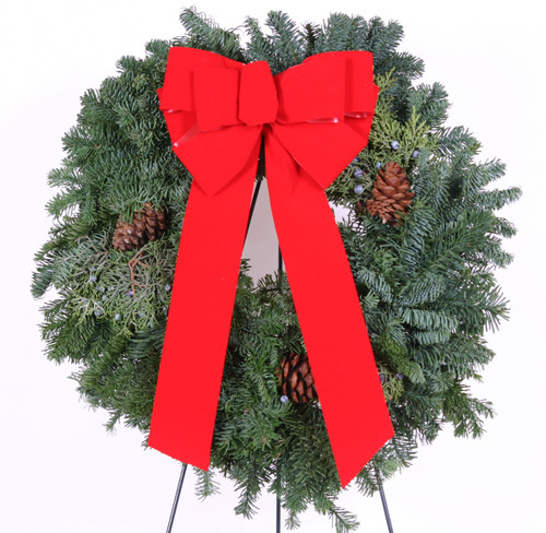 Fort Snelling Cementary Winter Wreath