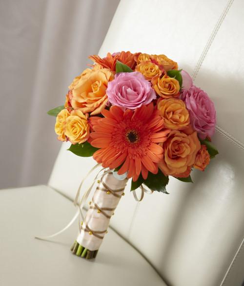 New Sunrise Hand Bouquet