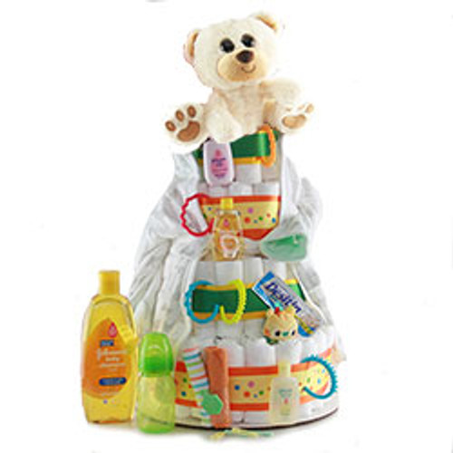 Diaper Cakes for Boys & Girls
