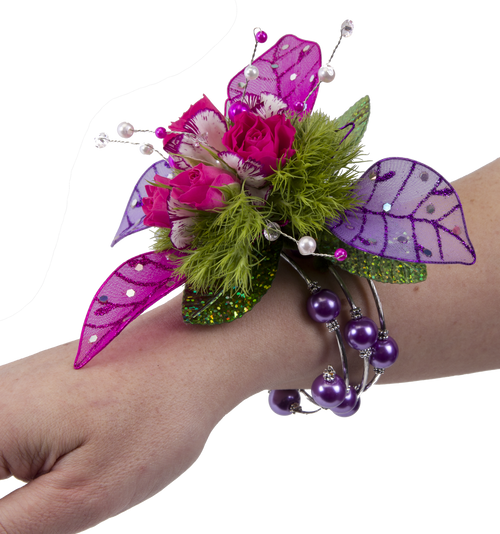 Custom Made - Keepsake Memory Wire Wrist Corsage