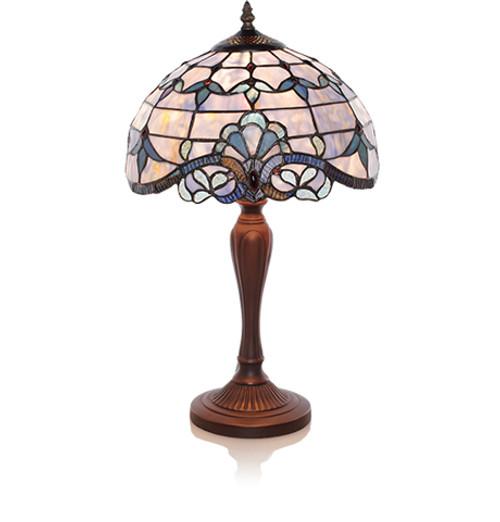 Blue Allistar Table Lamp