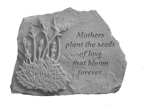 Mother plant the seeds with lavender... Memory Stone