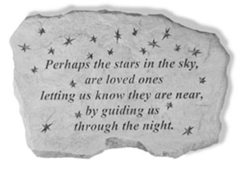 Perhaps the stars in the sky... Memory Stone