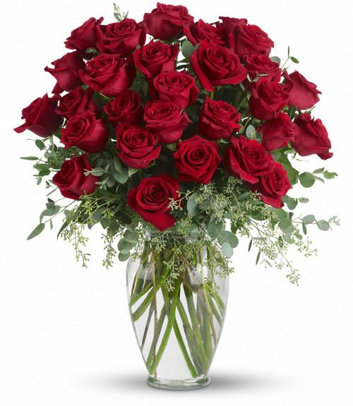 Forever Beloved - 30 Red Roses